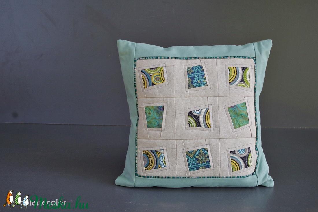 WINDOWS - patchwork párna (colette) - Meska.hu