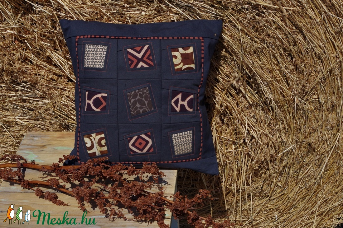 AKCIÓ!!! WINDOWS - patchwork párna (colette) - Meska.hu