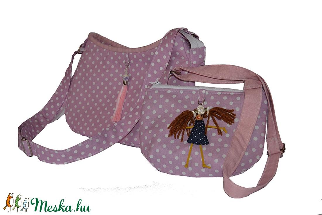 Anya-lánya pöttyös táska (Colibrishop) - Meska.hu a902c60a82