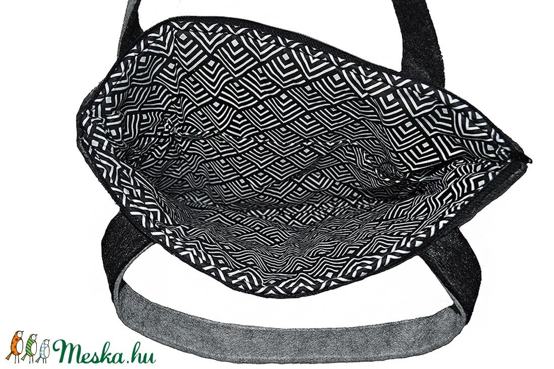 Laptop táska szürke csíkos (Colibrishop) - Meska.hu 5e52dec8eb