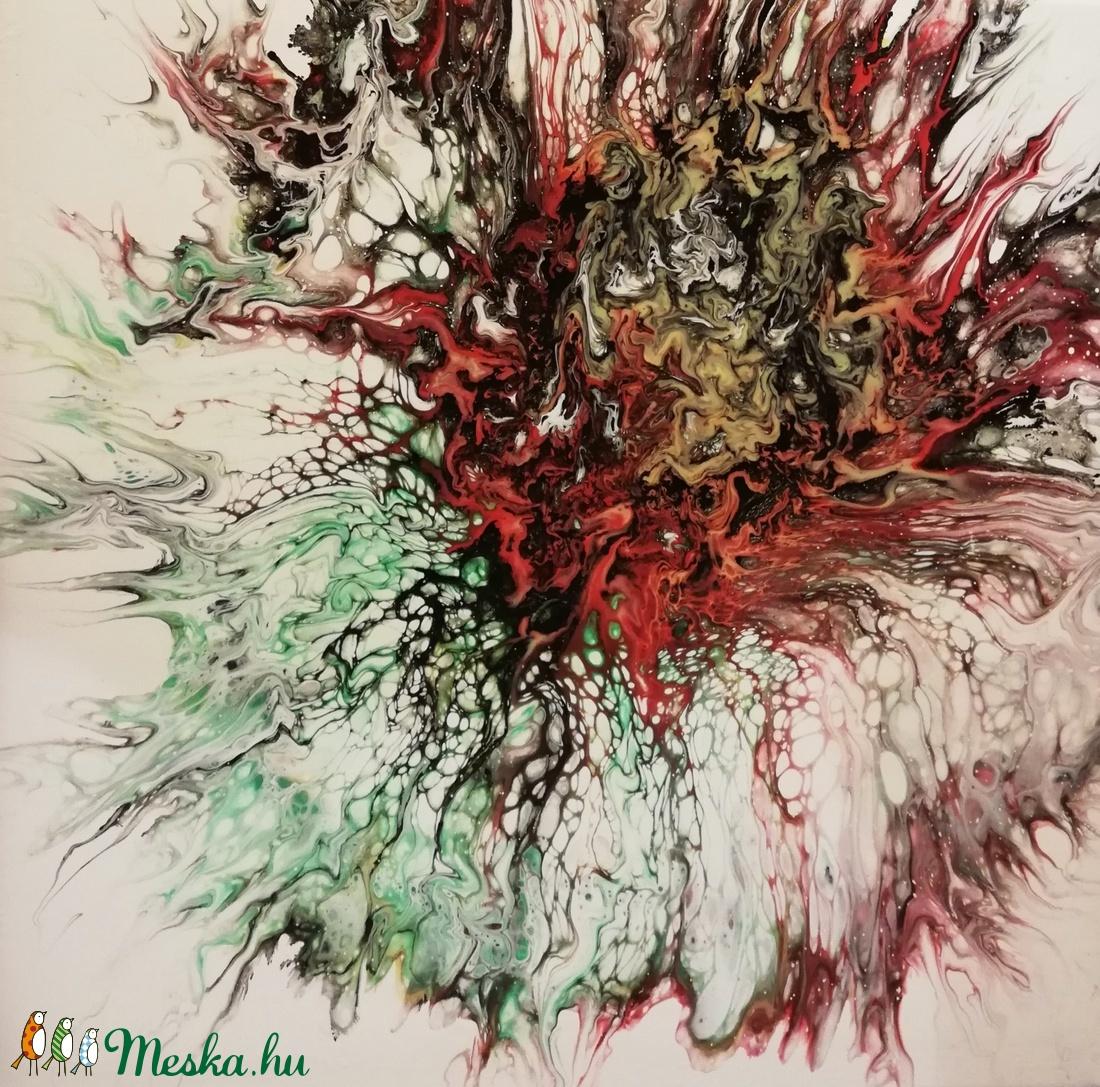 Őszi virág II./Festmény/Akril (ColoRush) - Meska.hu