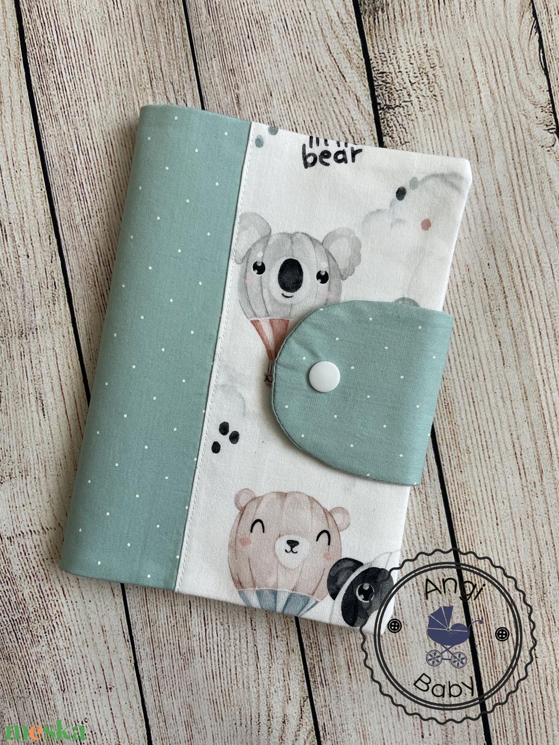 Egészségügyi kiskönyv borító - játék & gyerek - babalátogató ajándékcsomag - Meska.hu