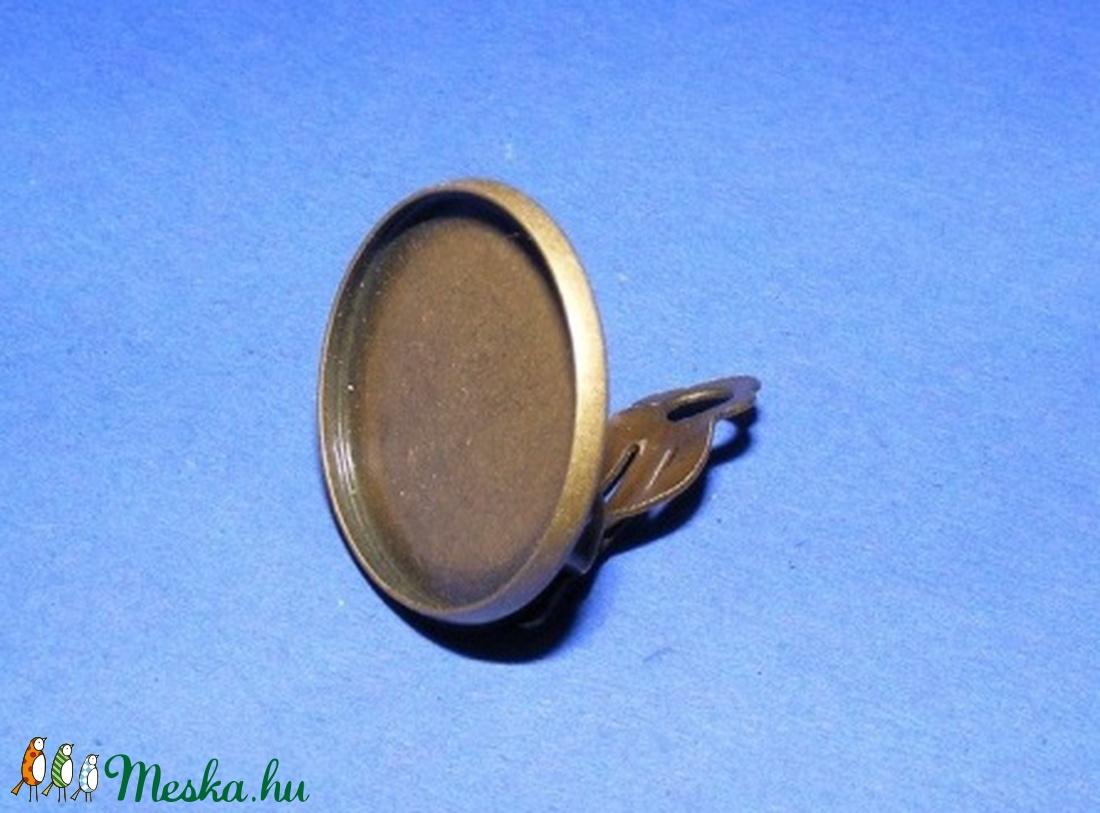 Fülbevaló alap (252/B minta/2 db) - gyöngy, ékszerkellék - Meska.hu