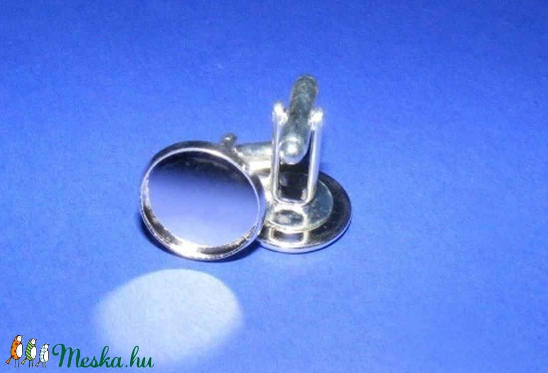 Mandzsettagomb alap (158. minta/2 db) - gomb - Meska.hu