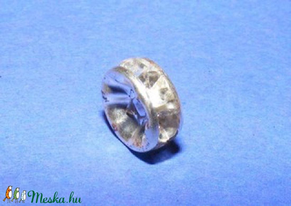 Rondell (518/A minta/1 db) - gyöngy, ékszerkellék - Meska.hu