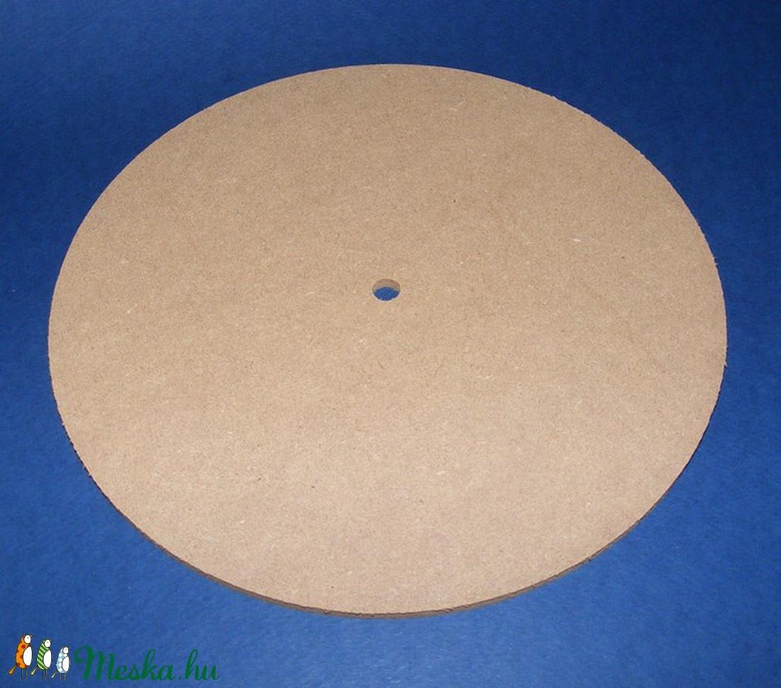 MDF fa óralap (Ø 20 cm/1 db) - kerek (csimbo) - Meska.hu