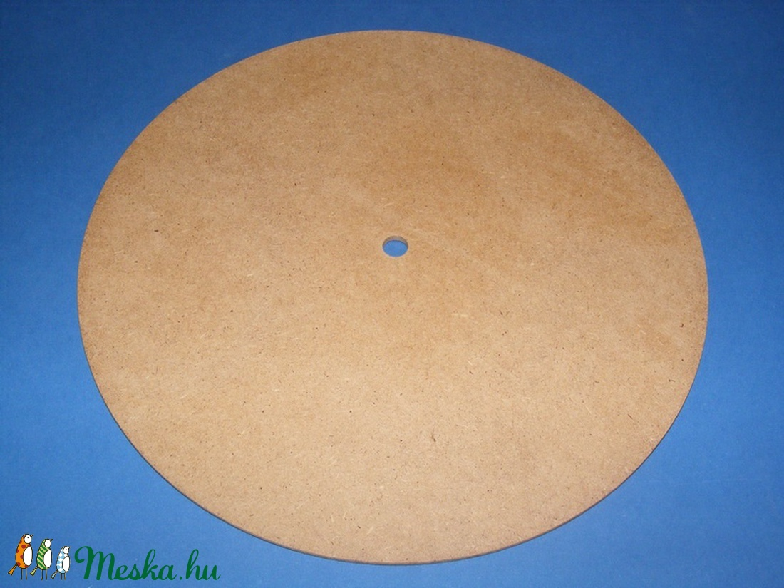 MDF fa óralap (Ø 25 cm/1 db) - kerek (csimbo) - Meska.hu
