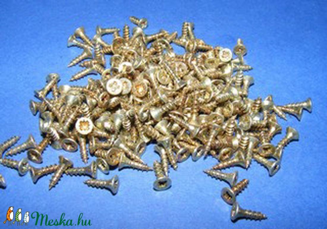 Csavar-6 (10x2,5 mm/10 db) - sárga (csimbo) - Meska.hu
