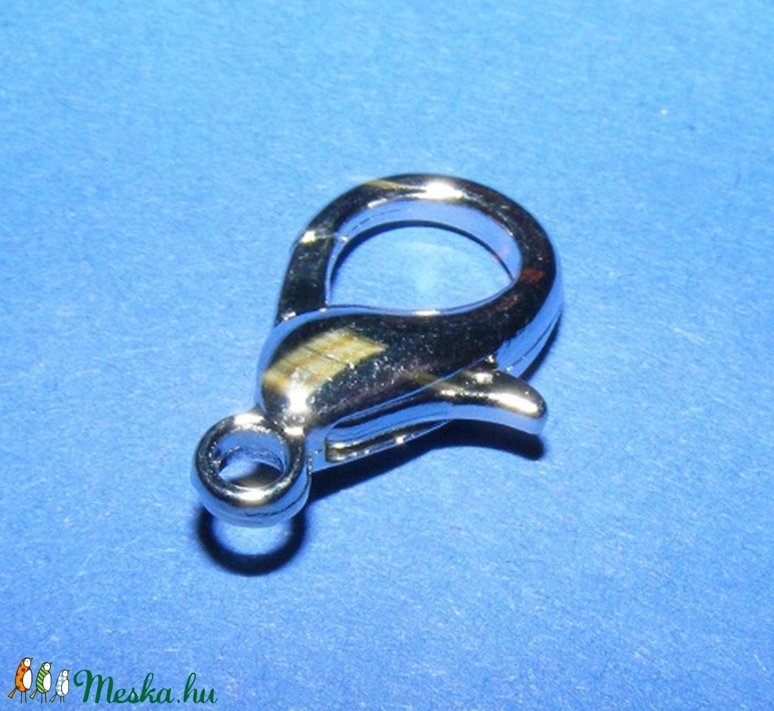 Delfinkapocs (307/A minta/1 db) -  21x12 mm  - gyöngy, ékszerkellék - Meska.hu