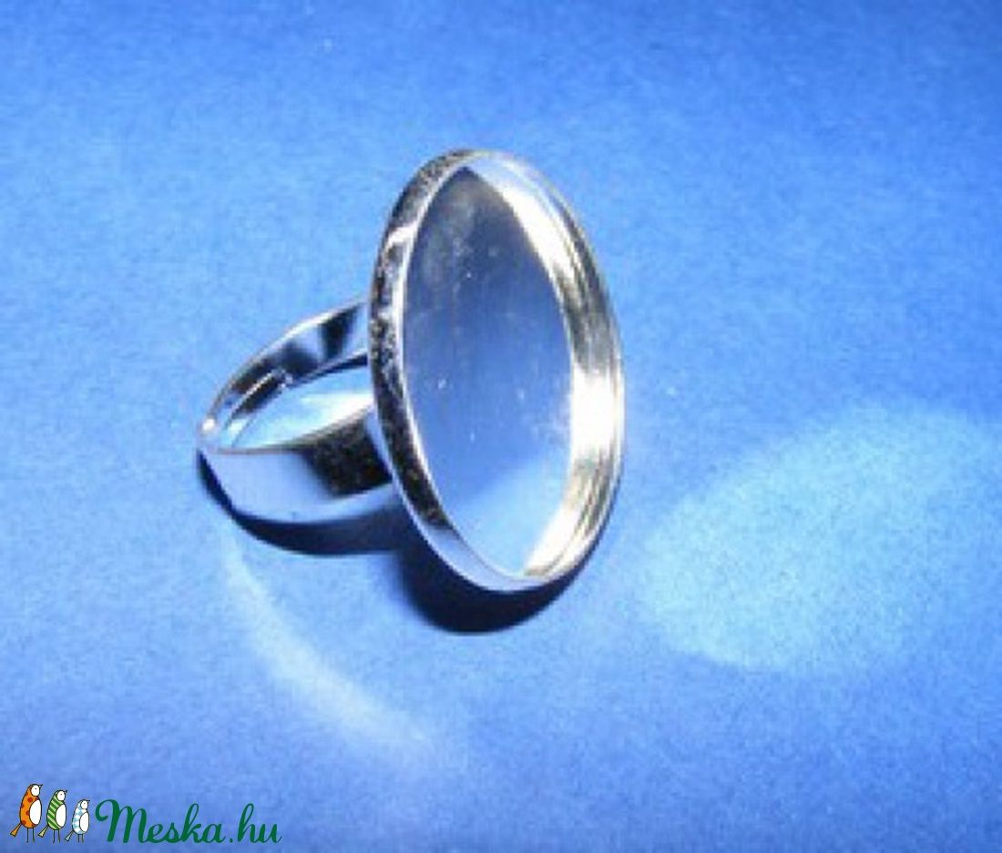 Gyűrű alap (3. minta/1 db) - gyöngy, ékszerkellék - Meska.hu