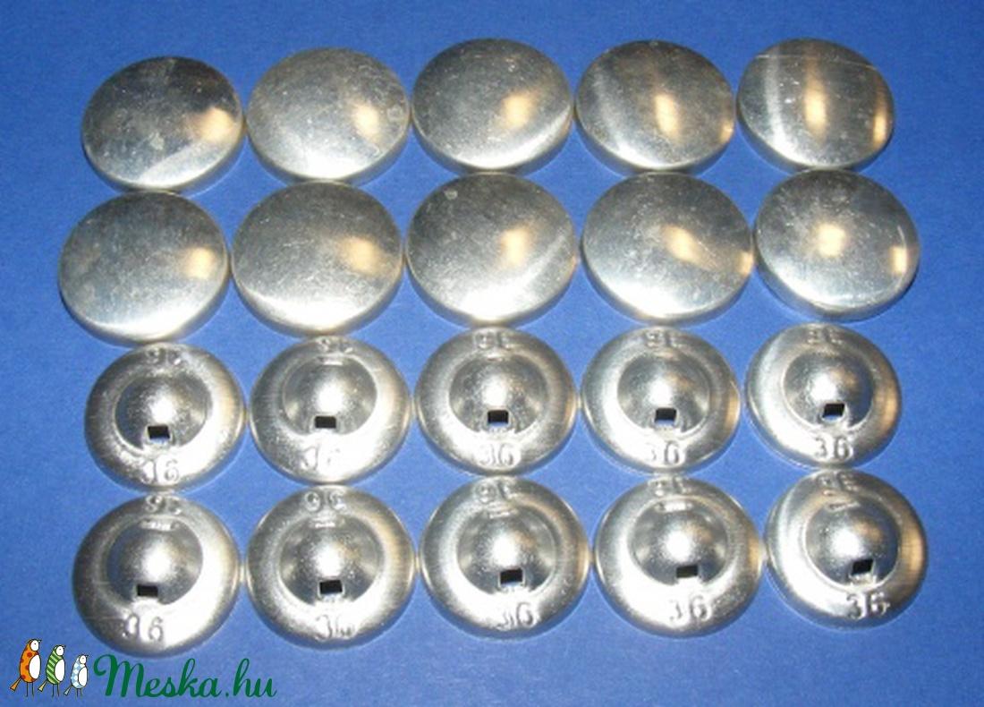 Fém gomb alap (6. méret/1 db) - gomb - Meska.hu