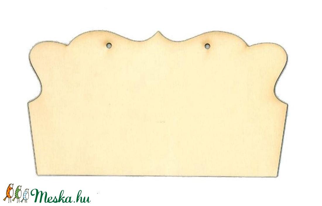 Fatábla (22x12,5 cm/1 db) - füles - fa - Meska.hu
