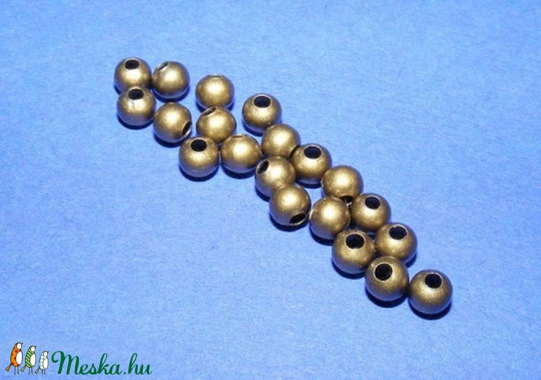 Bronz köztes (617/A minta/10 db) - gyöngy, ékszerkellék - Meska.hu
