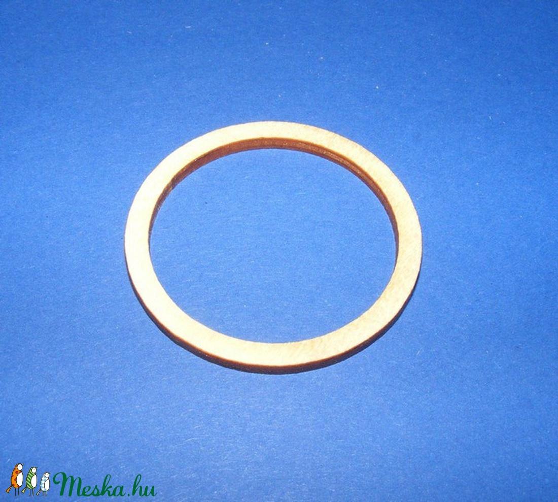 Fa alap (171/B minta/1 db) - karika (� 48 mm) - fa - Meska.hu