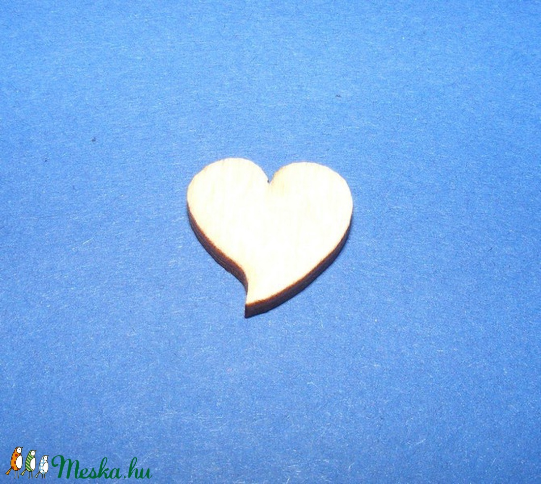 Fa alap (189. minta/1 db) - szív (15x15 mm) (csimbo) - Meska.hu