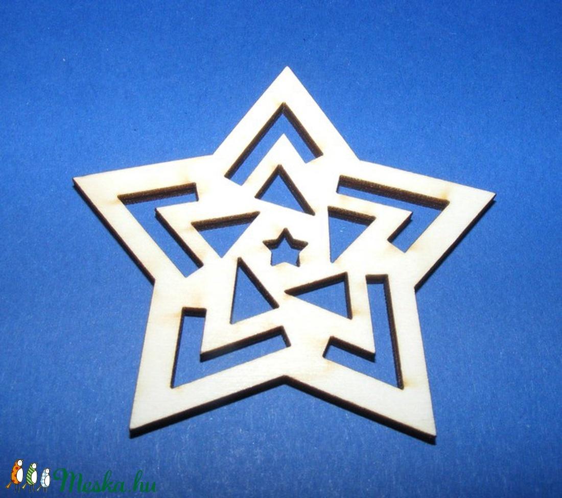 Fa alap (126. minta/1 db) - csillag - Meska.hu