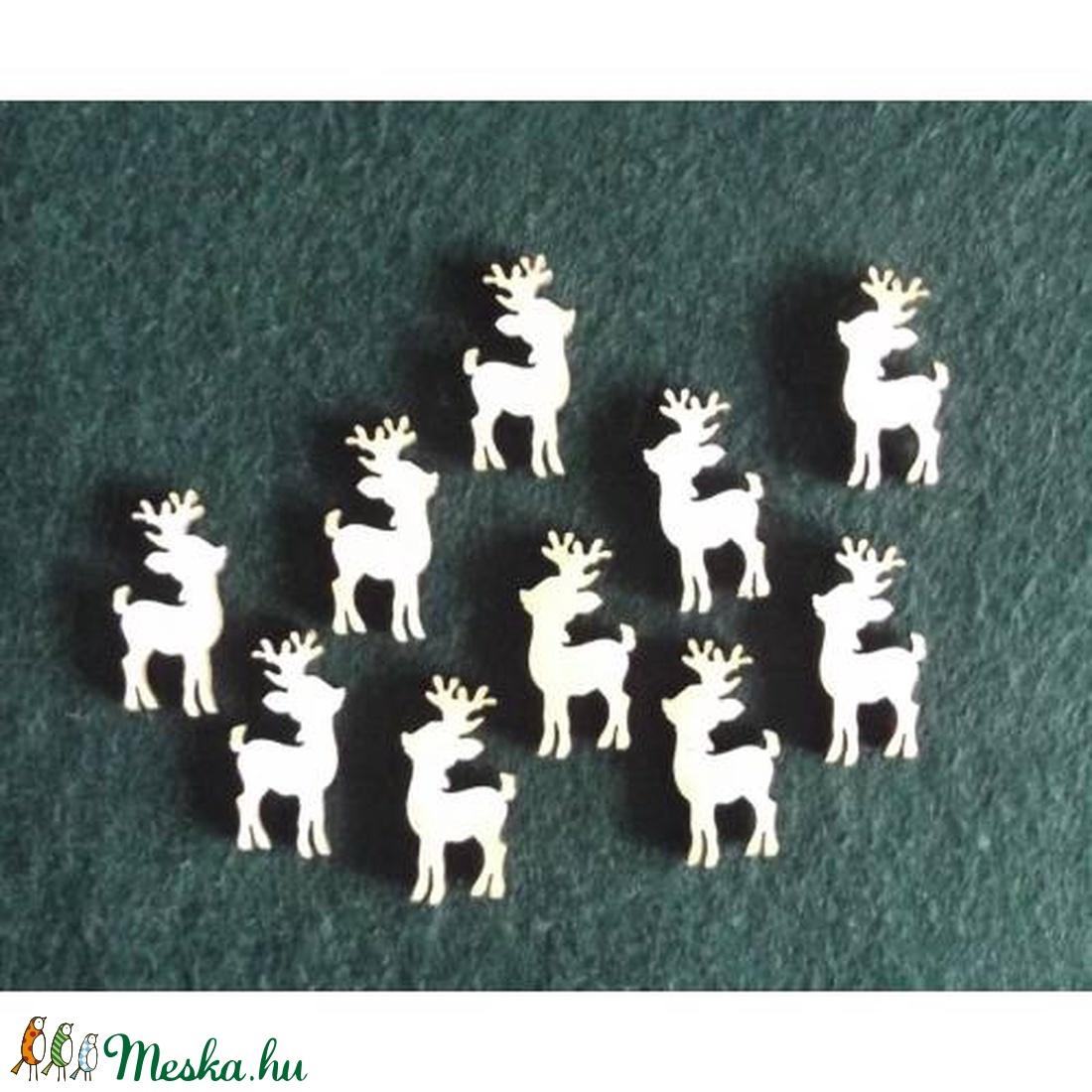 Karácsony  (7.minta/1 db) - kicsi szarvas (csimbo) - Meska.hu