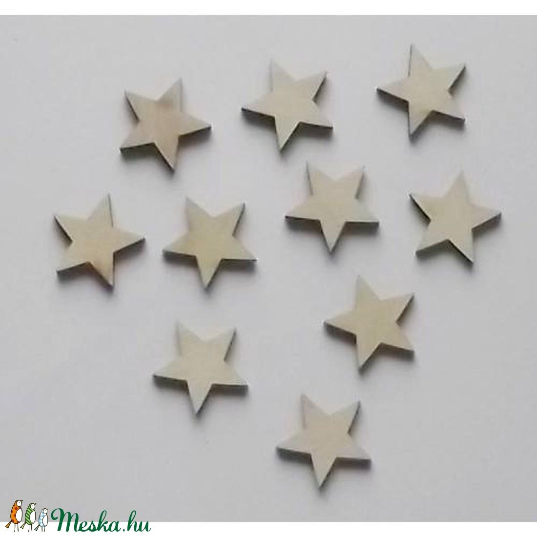 Karácsony  (12.minta/1 db) - kicsi csillag 5 ágú (csimbo) - Meska.hu