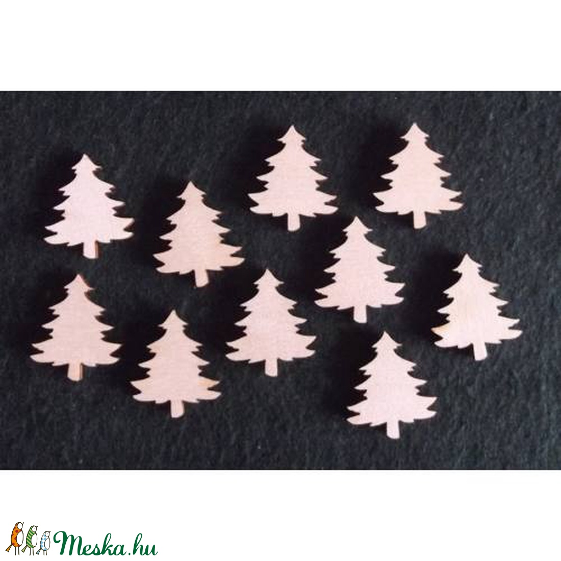 Karácsony  (14.minta/1 db) - kicsi fenyőfa (csimbo) - Meska.hu