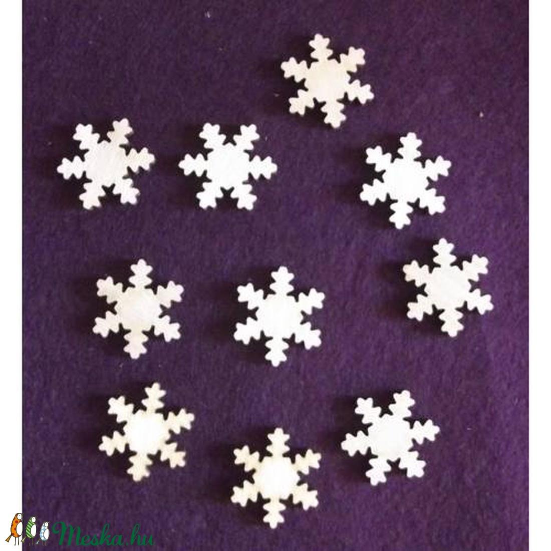 Karácsony  (3.minta/1 db) - kicsi hópehely (csimbo) - Meska.hu