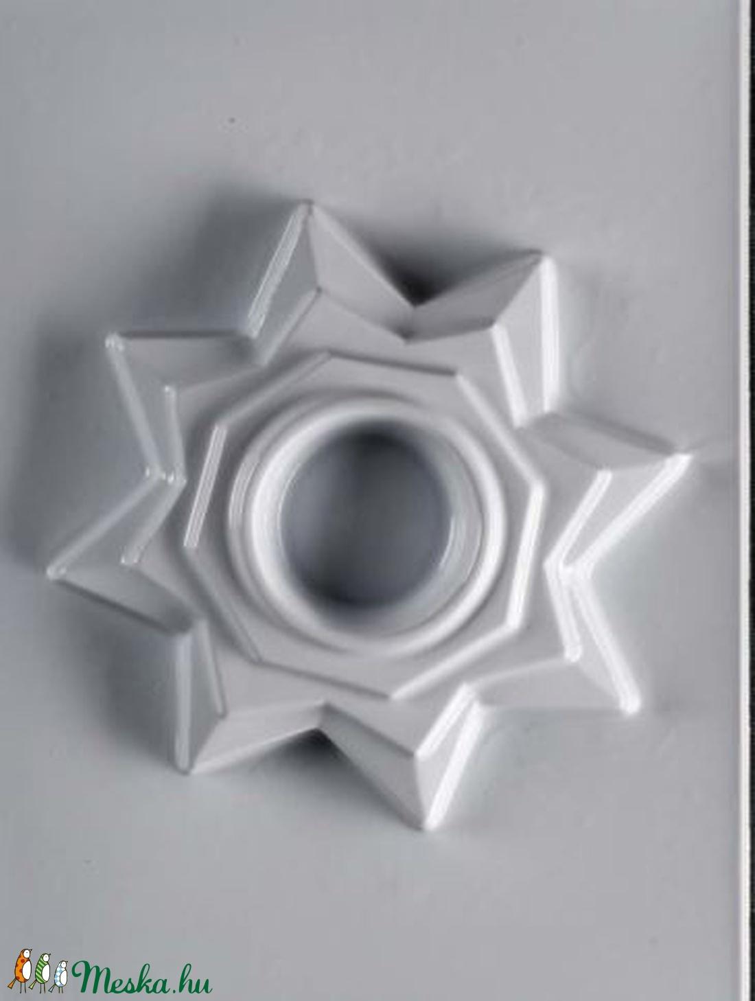 Mécses-24 - gipszöntő forma (1 motívum) - csillag (csimbo) - Meska.hu