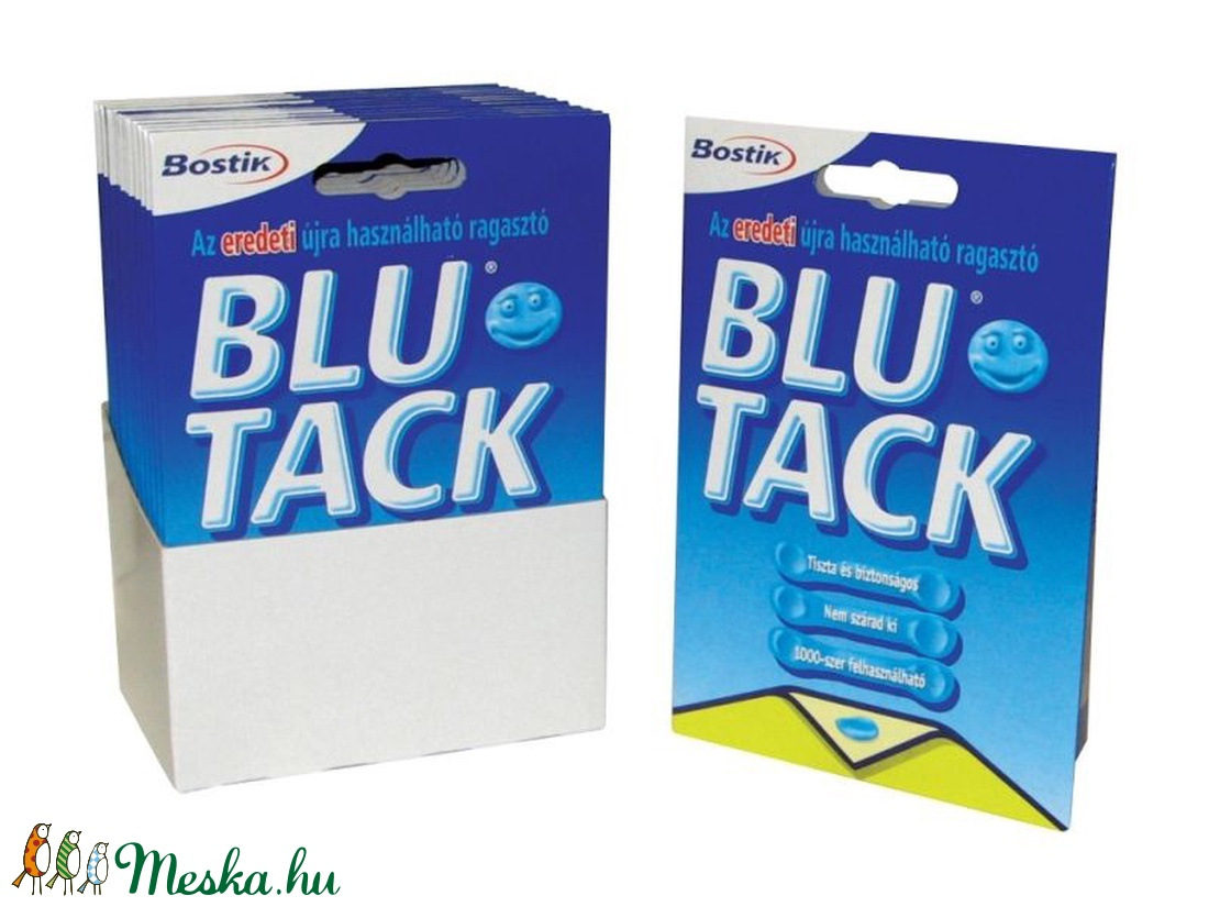 Blu Tack gyurmaragasztó (50 g/1 db) (csimbo) - Meska.hu