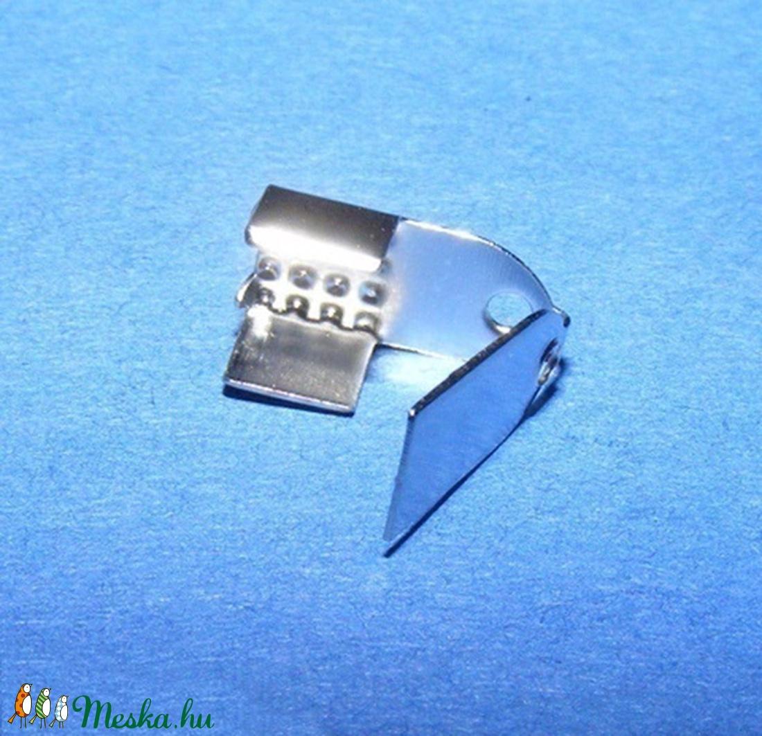 Bőrvég (13. minta/10 db) - 11x6 mm - gyöngy, ékszerkellék - Meska.hu