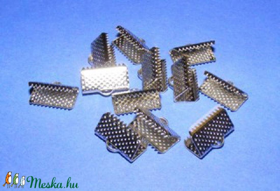 Szalagvég (15 minta/1 db) - 13x7x5 mm - gyöngy, ékszerkellék - Meska.hu