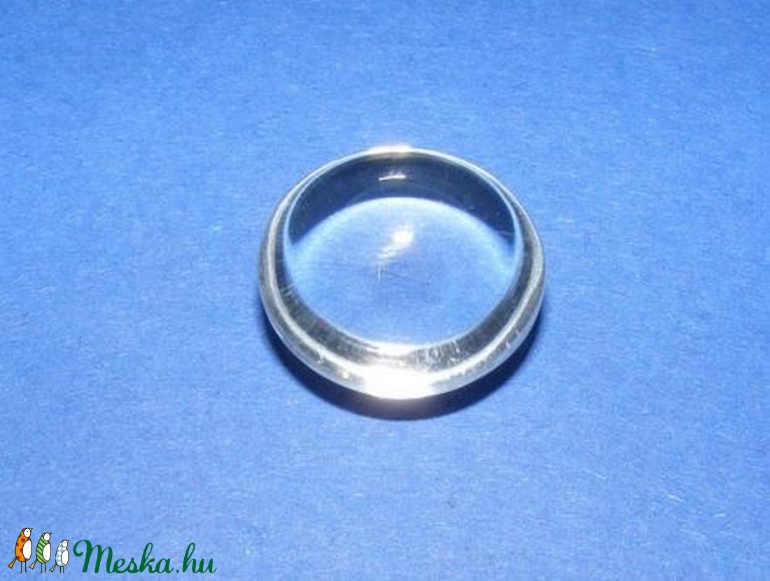 Üveglencse - 25 mm (903. minta/1 db) - kerek -  - Meska.hu