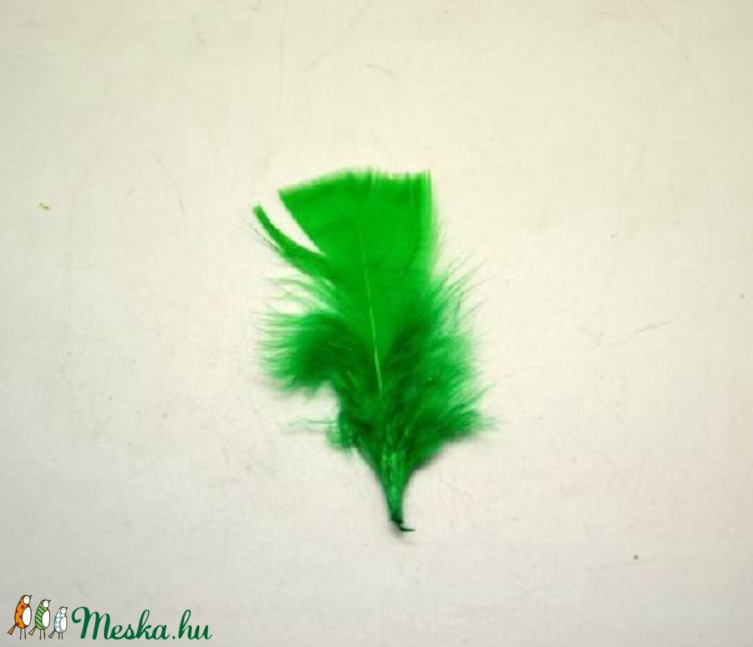 Dekorációs vágott toll-33 (10 db) - zöld (csimbo) - Meska.hu