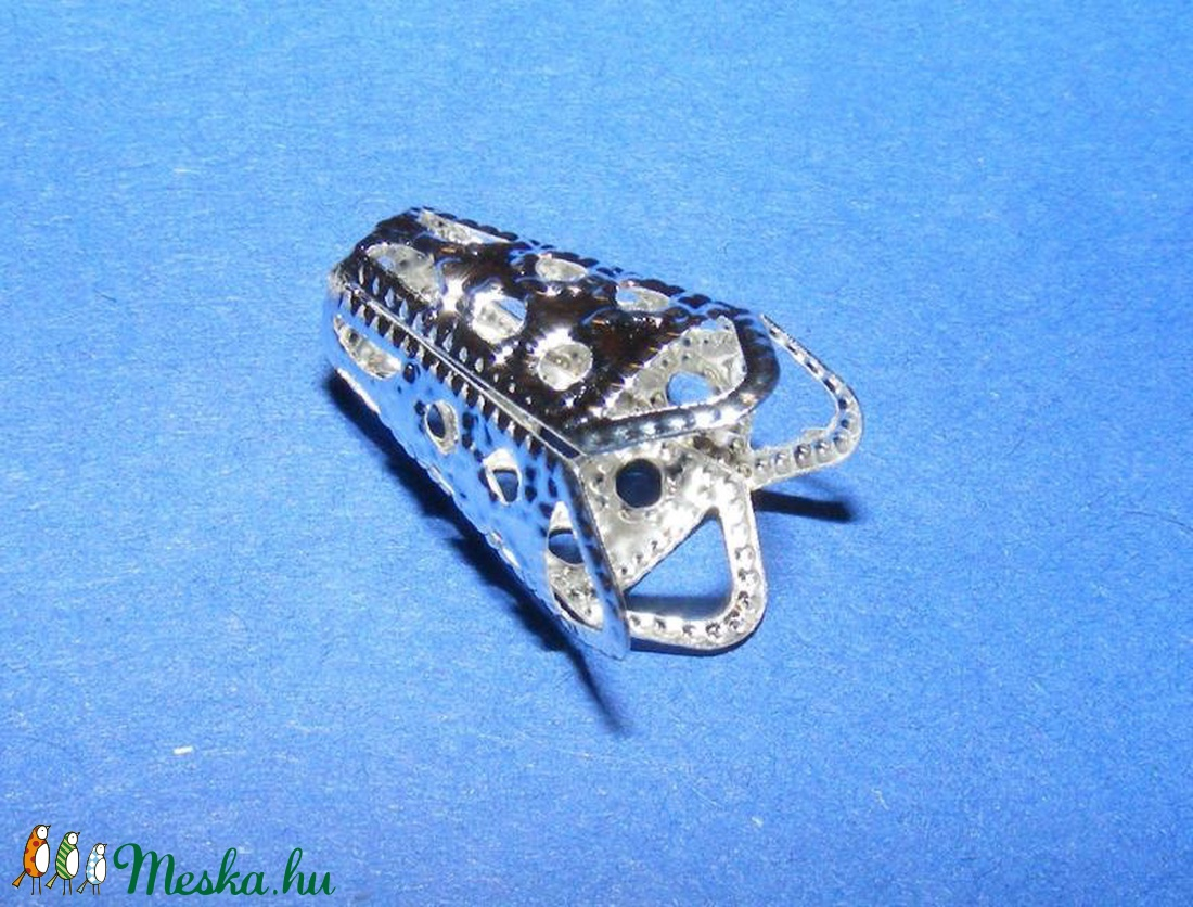 Gyöngykupak (25. minta/4 db) - 16x10 mm -  - Meska.hu
