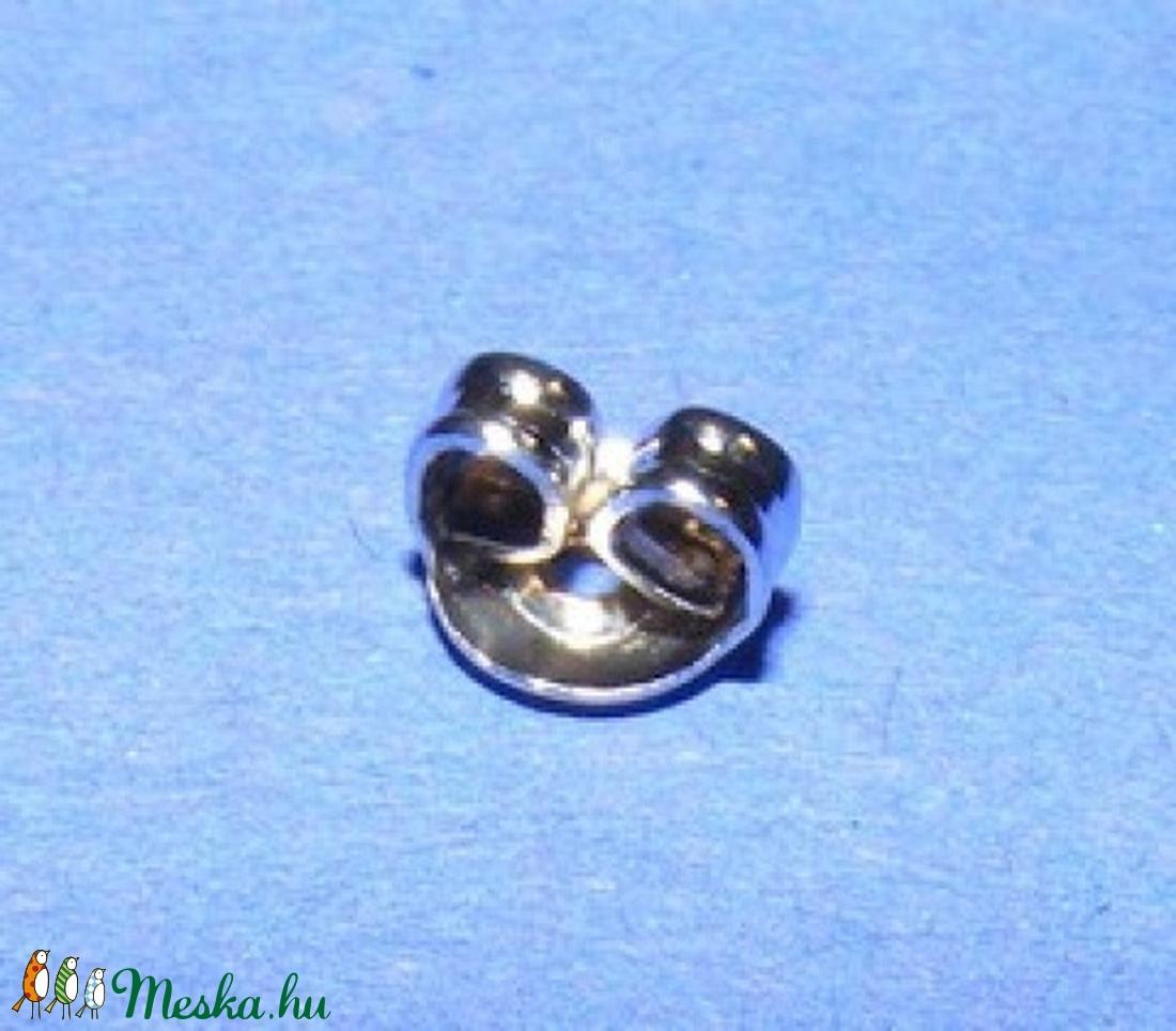 Fülbevaló hátsó rögzítő (273/N minta/10 db) - gyöngy, ékszerkellék - Meska.hu