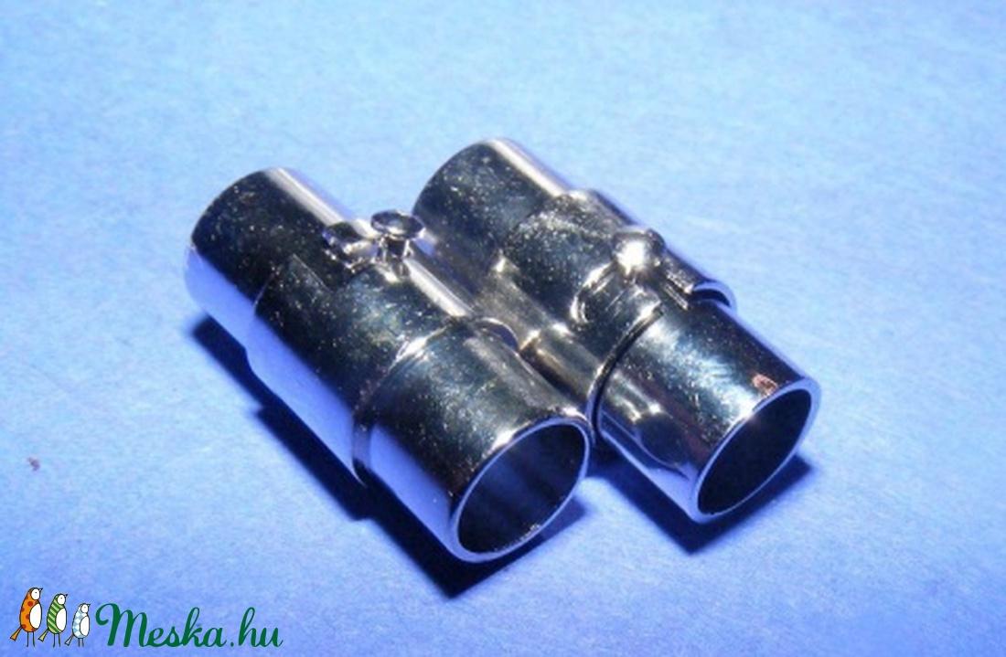Mágneses kapocs (320/A minta/1 db) - gyöngy, ékszerkellék - Meska.hu