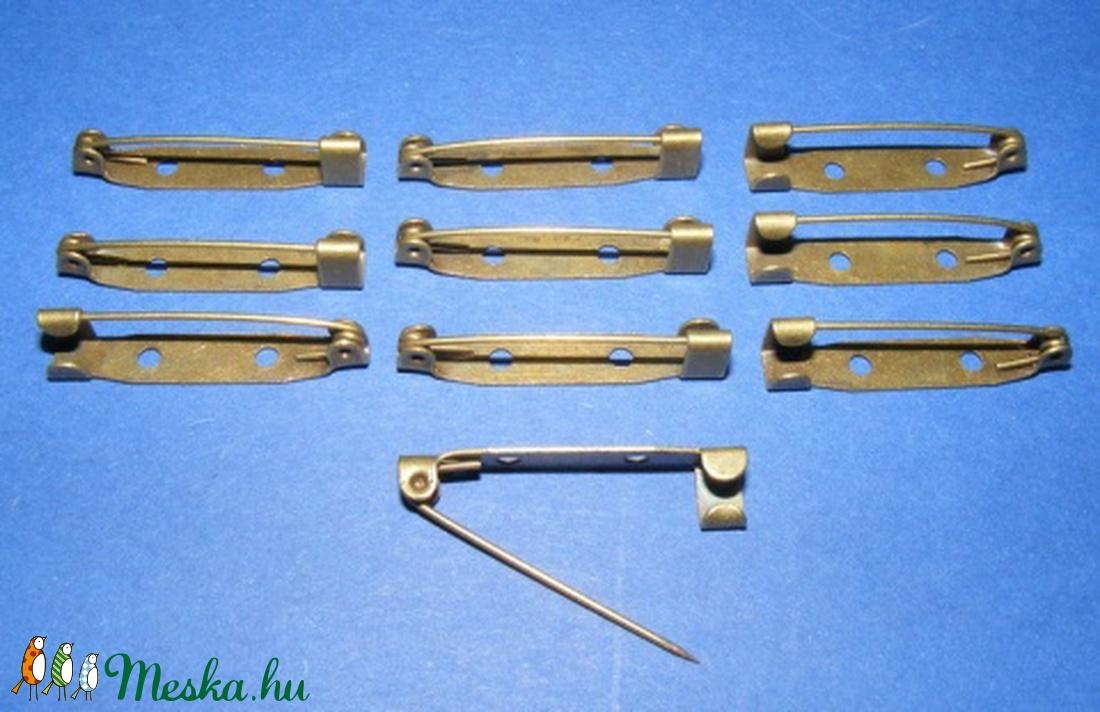Kitűző alap (400. minta/1 db) - 20 mm - gyöngy, ékszerkellék - Meska.hu