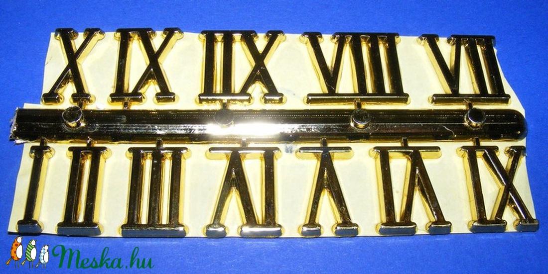 Római számsor (102. minta/arany) - 20 mm -  - Meska.hu