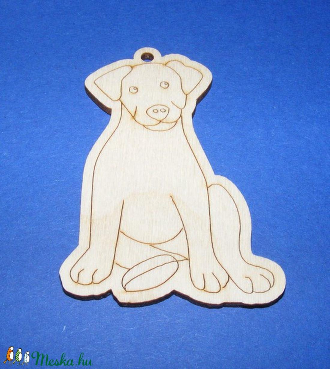 Fa alap (205. minta/1 db) - kutya - Meska.hu