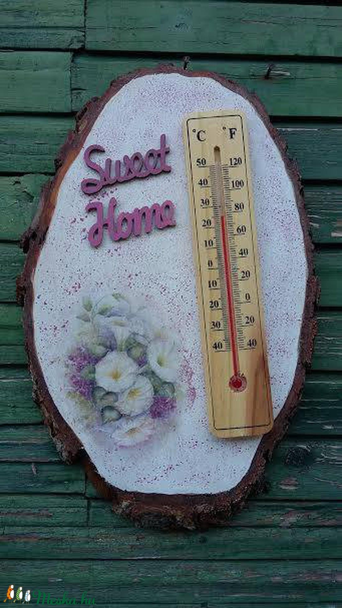 fatörzs hőmérő (csinaldmesike) - Meska.hu