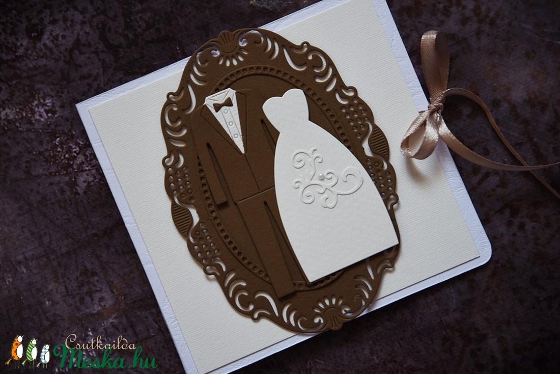 Esküvői  CD/DVD-tartó dupla  (csutkababa) - Meska.hu