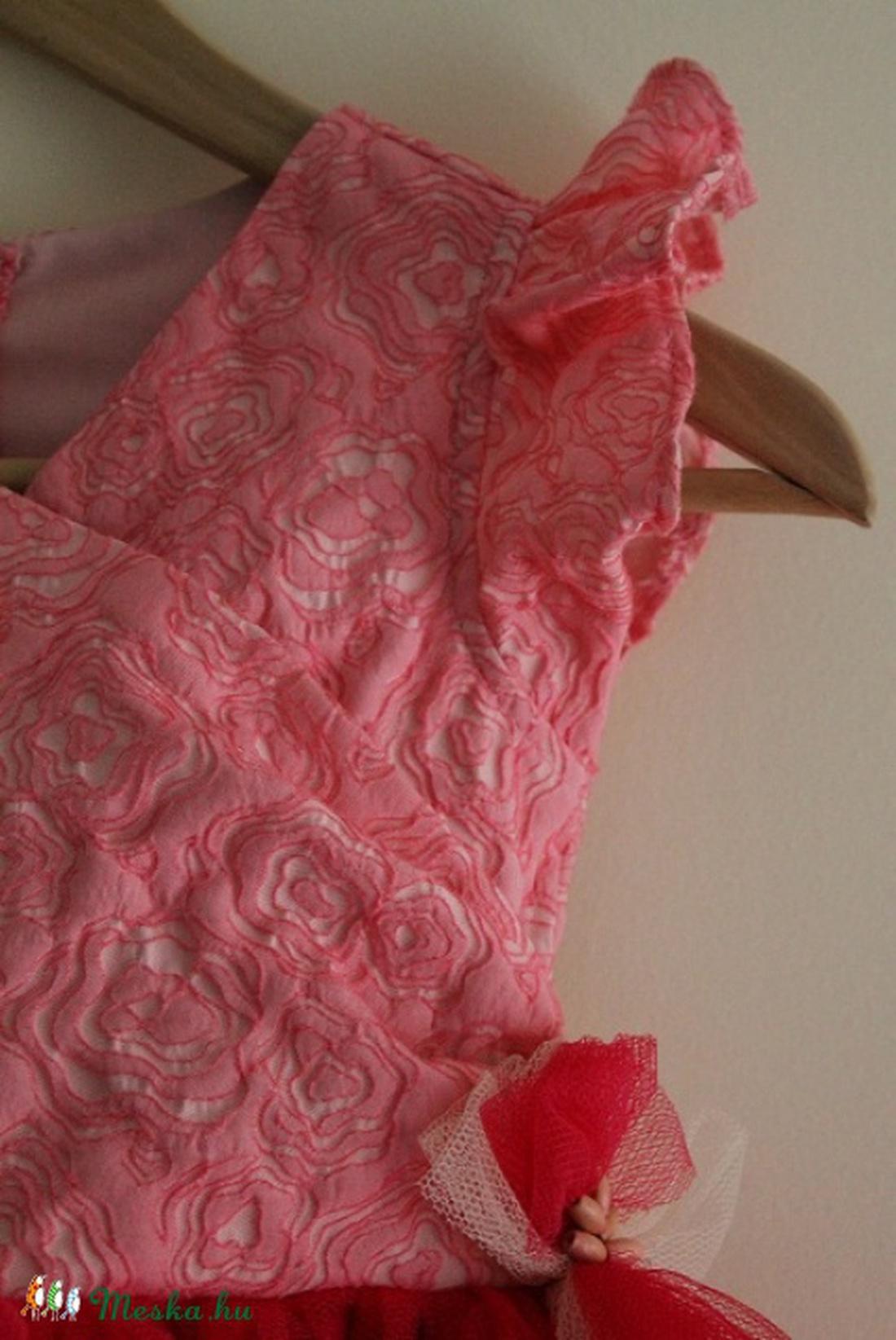 110c26ff9f ... Lányka tüll ruha rózsaszín, pink koszorúslány ruha (BYildi) - Meska.hu  ...