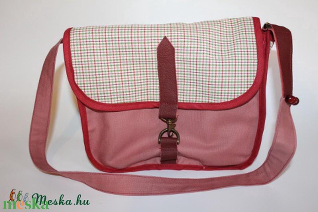 táska kockás vászontáska gyerek táska uzsonnás táska (BYildi) - Meska.hu 19558802a4