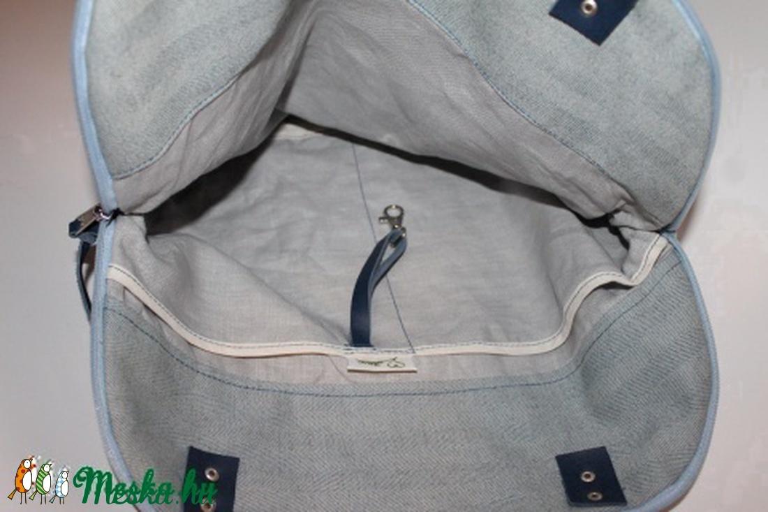 ... Táska szövet és bőr táska egyedi női táska (BYildi) - Meska.hu c37c75767e