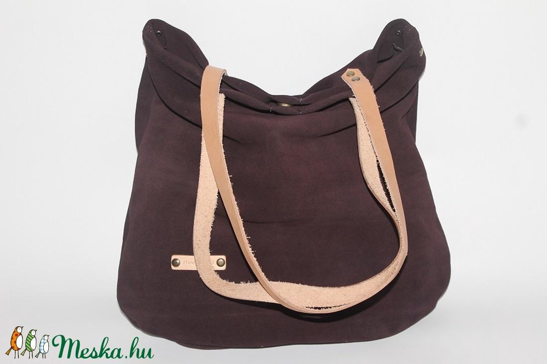 ... Bőr táska lila velúr bőr táska női táska (BYildi) - Meska.hu ... 06e3c1cd34