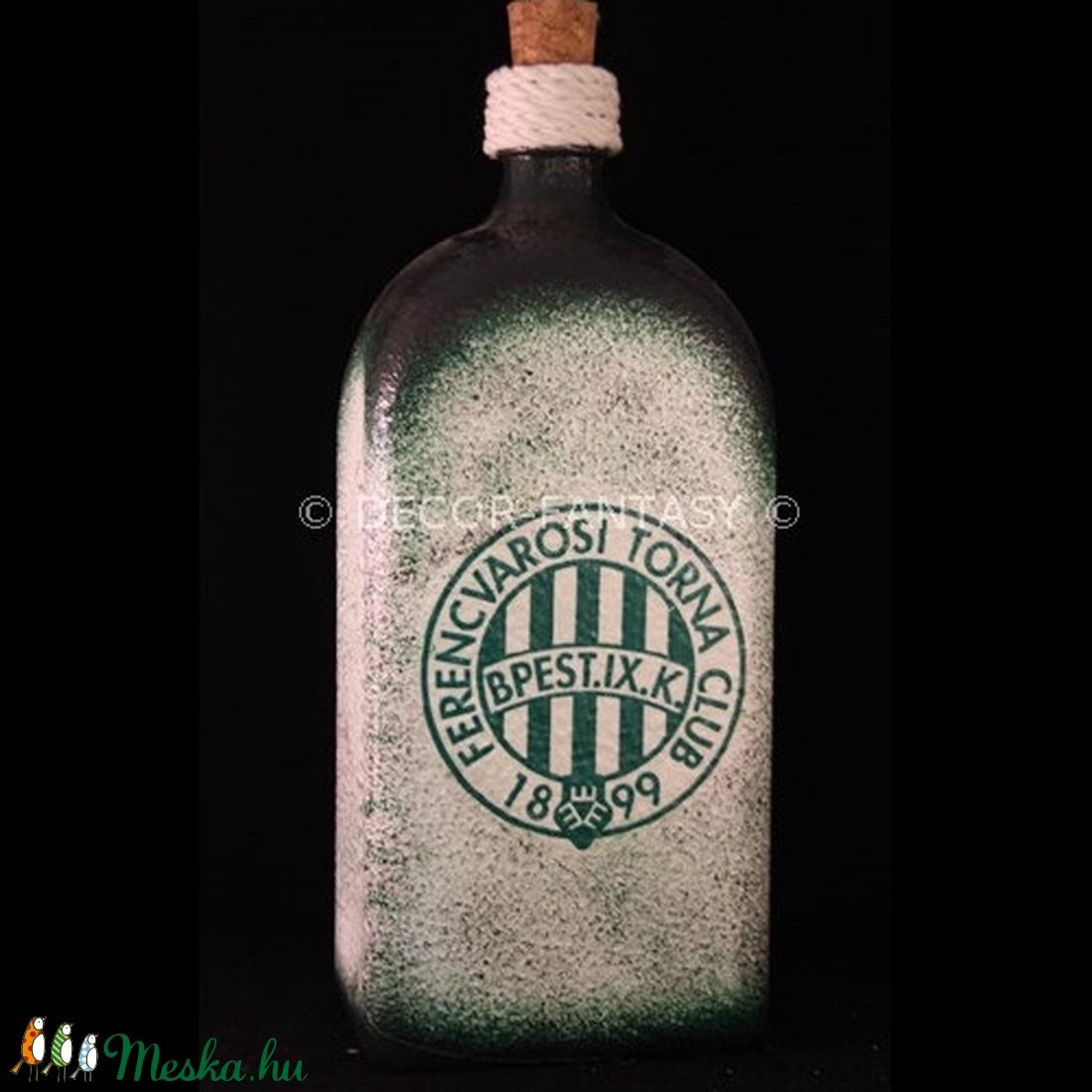 FTC pálinkás üveg ; FTC futball szurkolóknak (decorfantasy) - Meska.hu