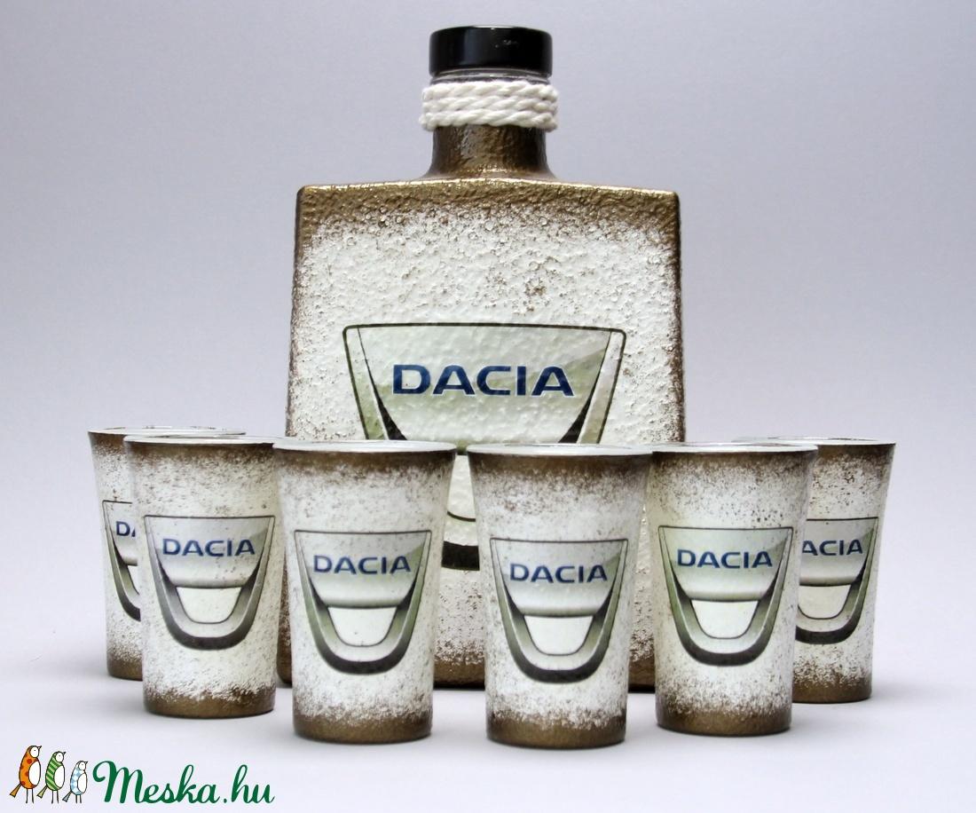 DACIA pálinkás készlet ajándékcsomag - Meska.hu