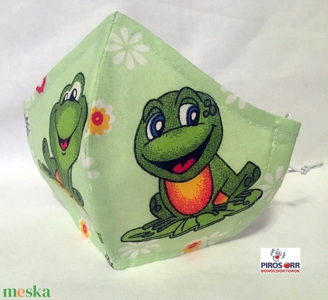 EGYEDI BÉKÁS  SZÁJMASZK -Textil szájmaszk-Egészségügyi szájmaszk -Felnőtteknek ,gyerekeknek  (decorfantasy) - Meska.hu