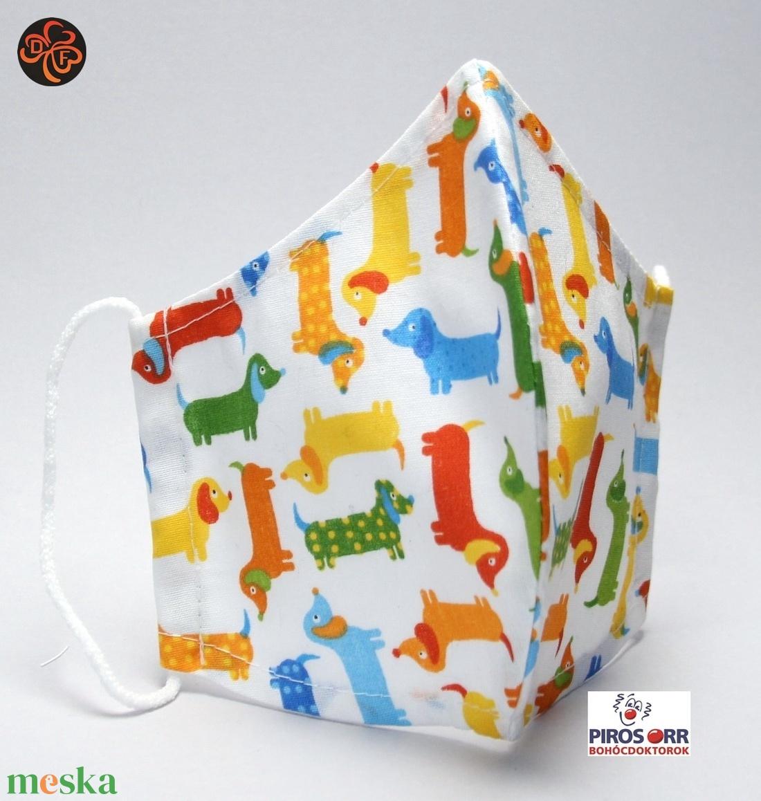 EGYEDI TACSKÓS  SZÁJMASZK -Textil szájmaszk-Egészségügyi szájmaszk -Felnőtteknek ,gyerekeknek - - Meska.hu