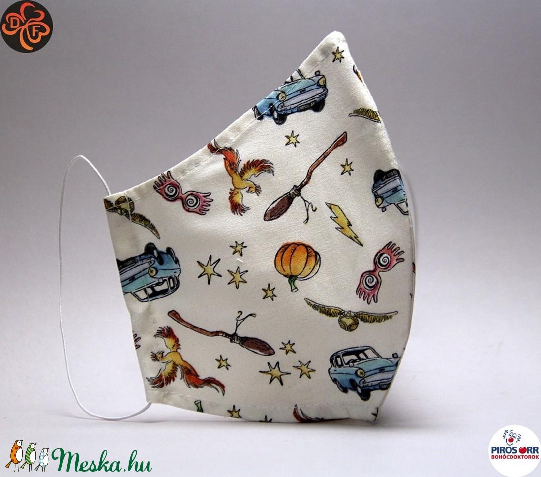EGYEDI HARRY POTTER  SZÁJMASZK -Textil szájmaszk-Egészségügyi szájmaszk -Felnőtteknek (női és férfi méret) ,gyerekeknek  (decorfantasy) - Meska.hu