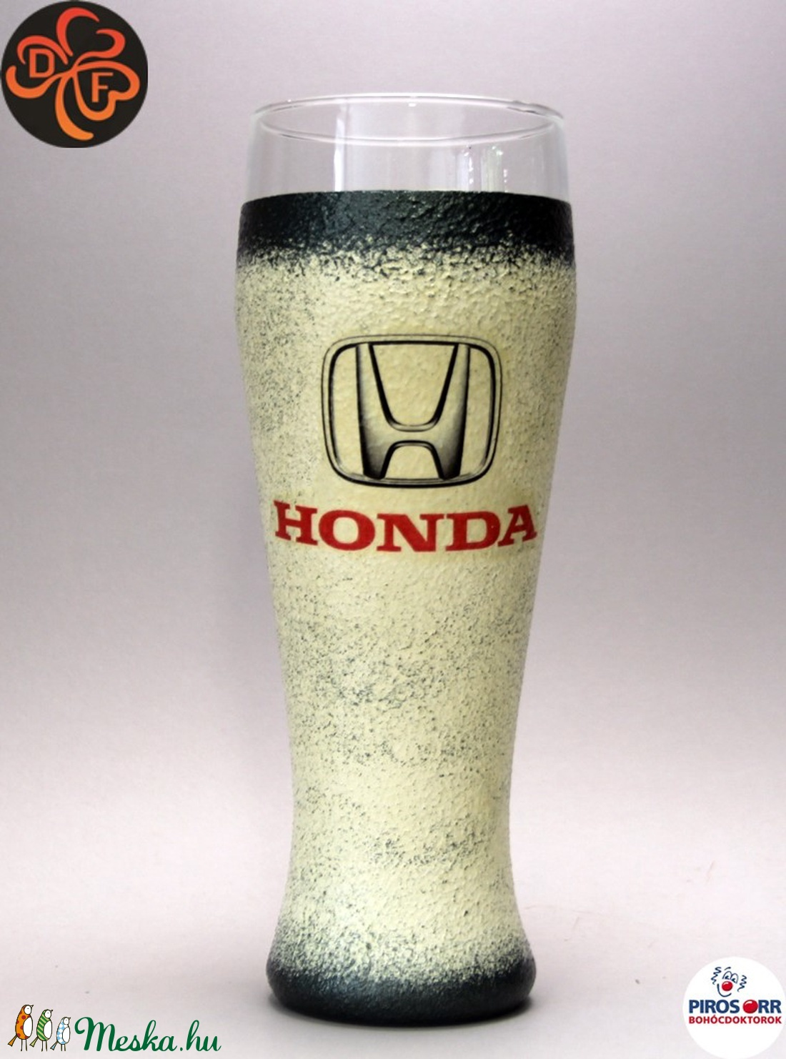 HONDA sörös pohár ; Saját Honda autód fotójával is elkészítjük ! (decorfantasy) - Meska.hu