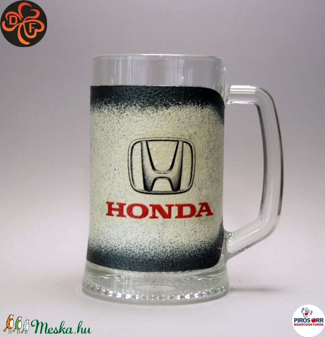 HONDA sörös korsó ; Saját Honda autód fotójával is elkészítjük ! (decorfantasy) - Meska.hu