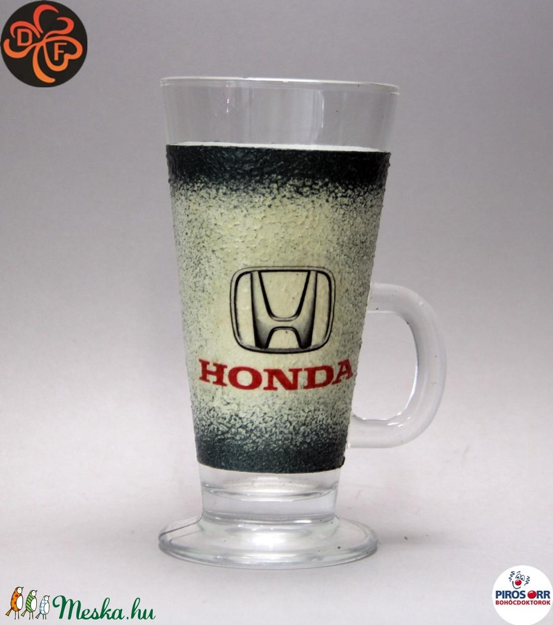 HONDA kávés pohár ; Saját Honda autód fotójával is elkészítjük ! (decorfantasy) - Meska.hu